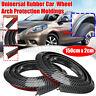 2x Universal Rubber Car Mudguard Trim Strip 1.5M Wheel Arch Protection Moldings
