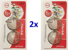 LOT OF 1x 2x Tea Soup Herb Mesh Stainless Steel Infuser Strainer Filter Diffuser