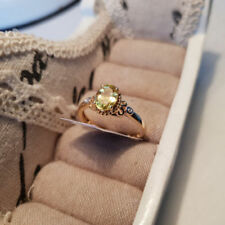 Apatite Zircon Natural Fine Gemstone Rings