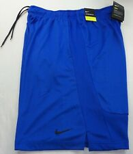 NIKE DRY Men's Shorts Large Tall LT Workout Athletic Training Blue Hybrid New