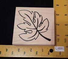 Denami Rubber Stamp TREE LEAF Scene Maker Autumn Fall Spring Foliage Botanical