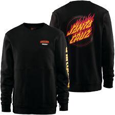 THIRTYTWO 32 Mens 2019 - VAULT CREW Pullover Sweater - SANTA CRUZ Black