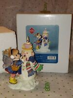 Enesco MY LITTLE KITCHEN FAIRIES SWEETEST SNOWMAN FAIRIE figurine 2013 In Box