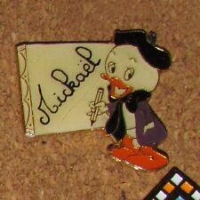 A23 Vintage Pin Disney Mickeal Nephew Donald Duck Artist Painter Rare