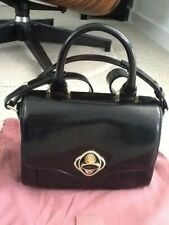Radley Fitzrovia Multiway Handbag. Black Patent Leather. New no tag.