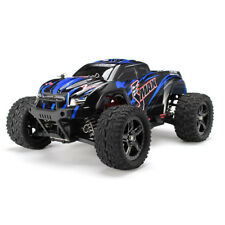 REMO 1/16 RC Monster Truck 2.4Ghz 4WD Off-Road Brushed Remote Control Car Blue