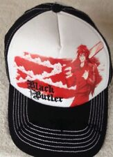 Black Butler Anime GRELL Chainsaw Hat Baseball Cap Snapback Adjustable NEW