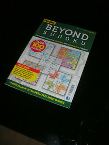 PUZZLER ~ BEYOND SUDOKU ~ #104 ~ 'ABSORBING ENTERTAINMENT'