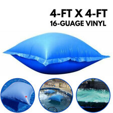 4ftx4ft Rugged 16 Guage Swimming Pool Inflatable Pillow Float Seat Swim Aid Toys