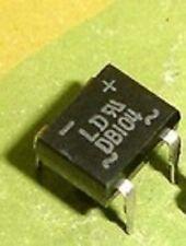 100 PCS DB104G DIP-4 DB104 Diodes Bridge Rectifier 400V