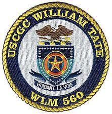 Uscgc William Tate W4941 Uscg Coast Guard patch buoytender