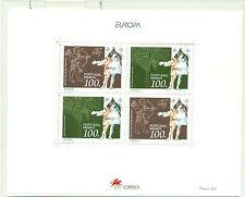 EUROPA - MADEIRA 1994 Fauna & Flora block