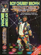 ROY CHUBBY BROWN - SATURDAY NIGHT BEAVER VHS VIDEO PAL 1996 R18