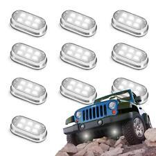10pc 4x4 Offroad Jeep Snowmobile Rock Crawling Under Body Glow LED Lighting Kit