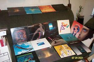 18 CT EXPERIMENTAL, AVANT GARDE LP LOT w VANGELIS, ROBERT FRIPP, TANGERINE DREAM