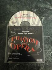 Songs From The Phantom Of The Opera Cd Album. Cd And Booklet Only Vgc