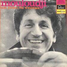 """VINYL - LP 12"""" 30cms: Mouloudji: un jour tu verras, fontana"""