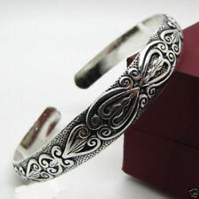 Free-shipping-New-Tibetan-Tibet-Silver-Totem-Bangle-Cuff-Bracelet-Z2017  Free-s