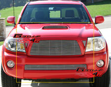 Fits Toyota Tacoma TRD Sport Billet Grille Grill Combo Insert 2005-2010