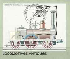 Timbre Trains Togo BF207 o lot 8514