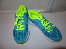 WOMENS ASICS SAUCONY BLUE,NEON YELLOW RUNNING SNEAKERS SIZE 6.5