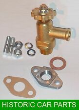 Water HEATER SHUT OFF TAP VALVE Assy & fasteners for Morris Minor 1000 1956-62