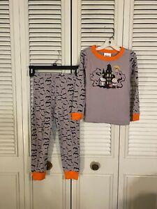 Hanna Andersson Peanuts Halloween Pajamas Set Size 110/5 100%Organic Cotton