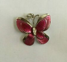 Jewellery Butterfly Pendant A Lovely Vintage Costume