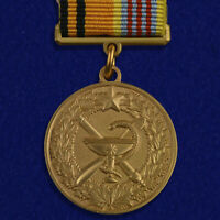 Medal 100 years of the medical service of the Military Space forces  BADGE Space