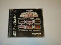 Midway Presents Arcade's Greatest Hits Atari Collection 2 Playstation 1 PS1 CIB