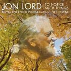 Jon Lord - To Notice Such Things [CD]