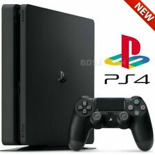 PlayStation 4 Slim (1TB) - PS4 Game Console w/ Controller - Black (US Warranty)