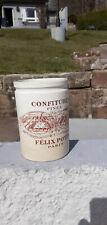 ANCIEN POT DE CONFITURE FELIX POTIN LUNEVILLE