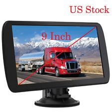 "9"" Truck Gps Car Gps Navigation for Car Lorry Hgv 256Mb 8Gb Sat Nav Fm Us Maps"