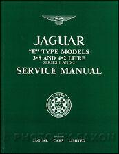 Jaguar XKE Shop Manual 3.8 4.2 1961 1962 1963 1964 1965 1966 1967 1968 1969-1971
