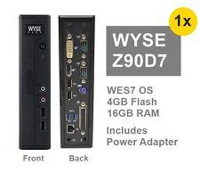 Dell Wyse Zx0 Z90D7 Thin Client 16GB-F 4GB-R WES7 USB3  p/n 909602-74L Lot_Avail