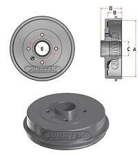 Brake Drum fits NISSAN NOTE E11 1.6 Rear 06 to 12 HR16DE 43206AX650 Juratek New