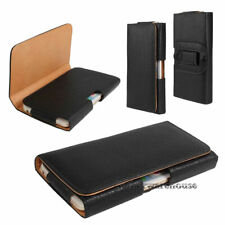 Pouch Case Leather Holster for Cell Phone Pouch Wallet Belt Clip Carrying Case
