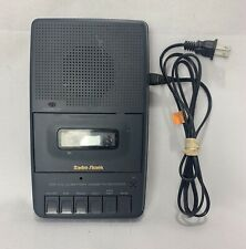 Radio Shack CTR~102 AC/Battery Portable Cassette Recorder w/ Built In Microphone