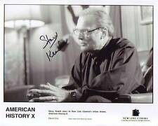 Stacy Keach Signed American History X Photo w/ Hologram Coa