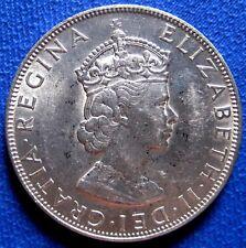 1964 BERMUDA  /  ONE BERMUDA  Crown Silver 22.7 gr