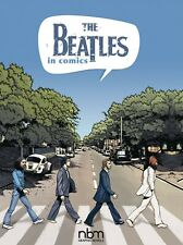 THE BEATLES IN COMICS - HARDCOVER - FREE SHIPPING IN THE USA!