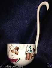 ROYAL SEALY JAPAN HAND PAINTED JAMAICA JAMAICAN PUNCH LADLE FRUIT