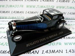 AUT9 1/43 ixo altaya Macchinine Antico: Bugatti Tipo 41 Royal 1929