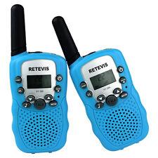 2xRetevis RT-388 Walkie Talkie UHF 0.5W 2-Way Radio CTCSS VOX For Kids US Seller