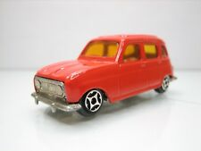 Diecast Norev Mini Jet Renault 4L 1:60? in Red Very Good Condition