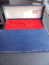 MONTBLANC MONT BLANC SCATOLA PER PENNA ANNI '50 BLU ORIGINALE PEN BOX