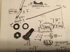 Harley WLA WLC UL Knucklehead Shift Rod End Bolt 1942-46 OEM# 2225-36 USA