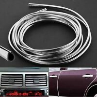 1m Chrome Car Door Boot Edge Guard Protector Molding Trim Strip UNIVERSAL