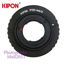 Kipon Adapter for Pentax 110 P110 Lens to Micro Four Thirds M43 M4/3 MFT Camera